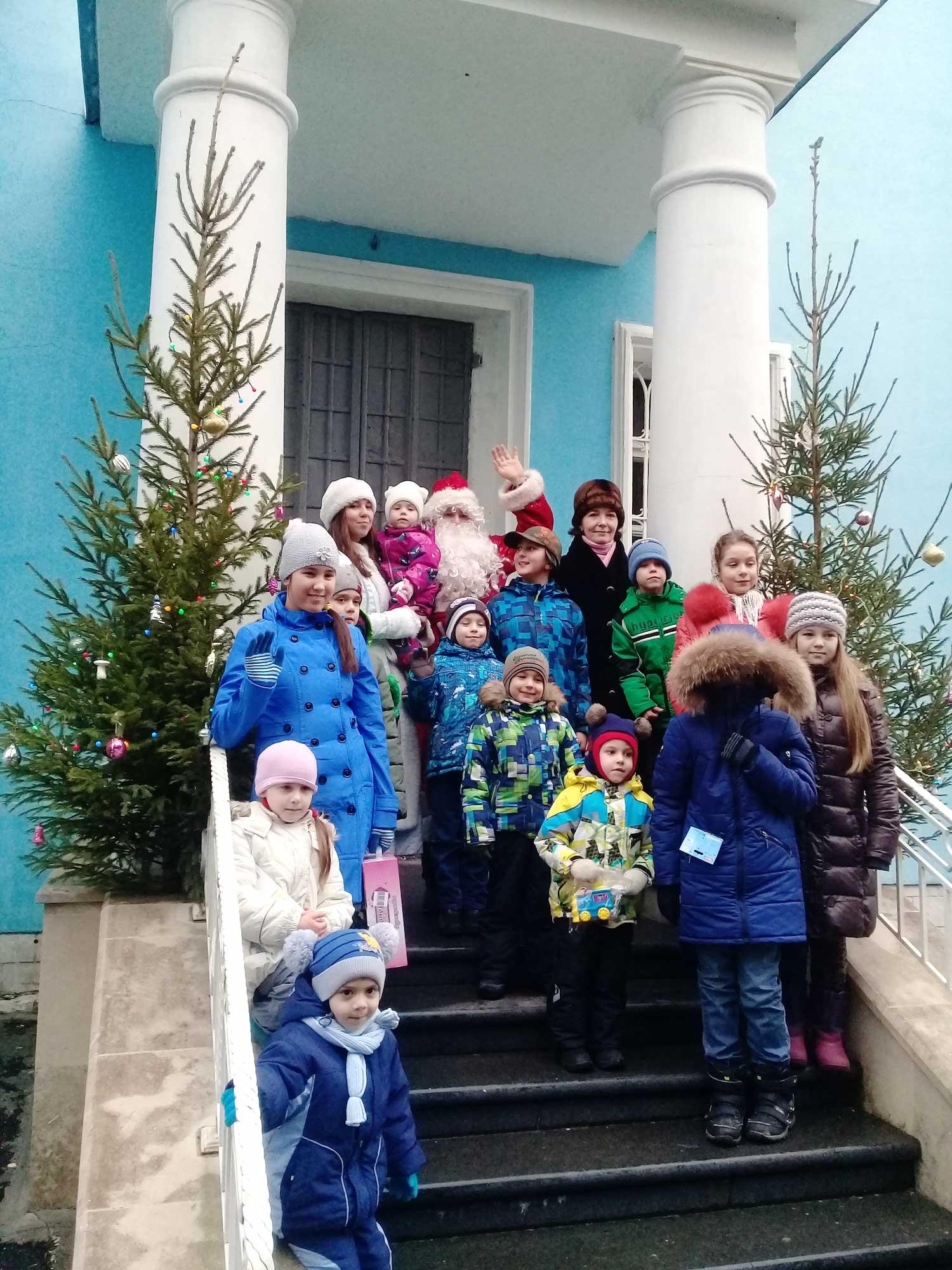 Рождество Христово на приходе Богоявленского храма города Коломны